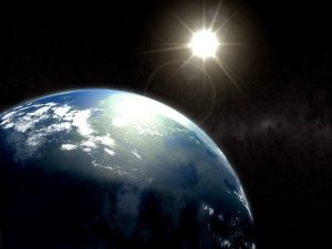 Earth-and-the-Sun-in-Space-HD
